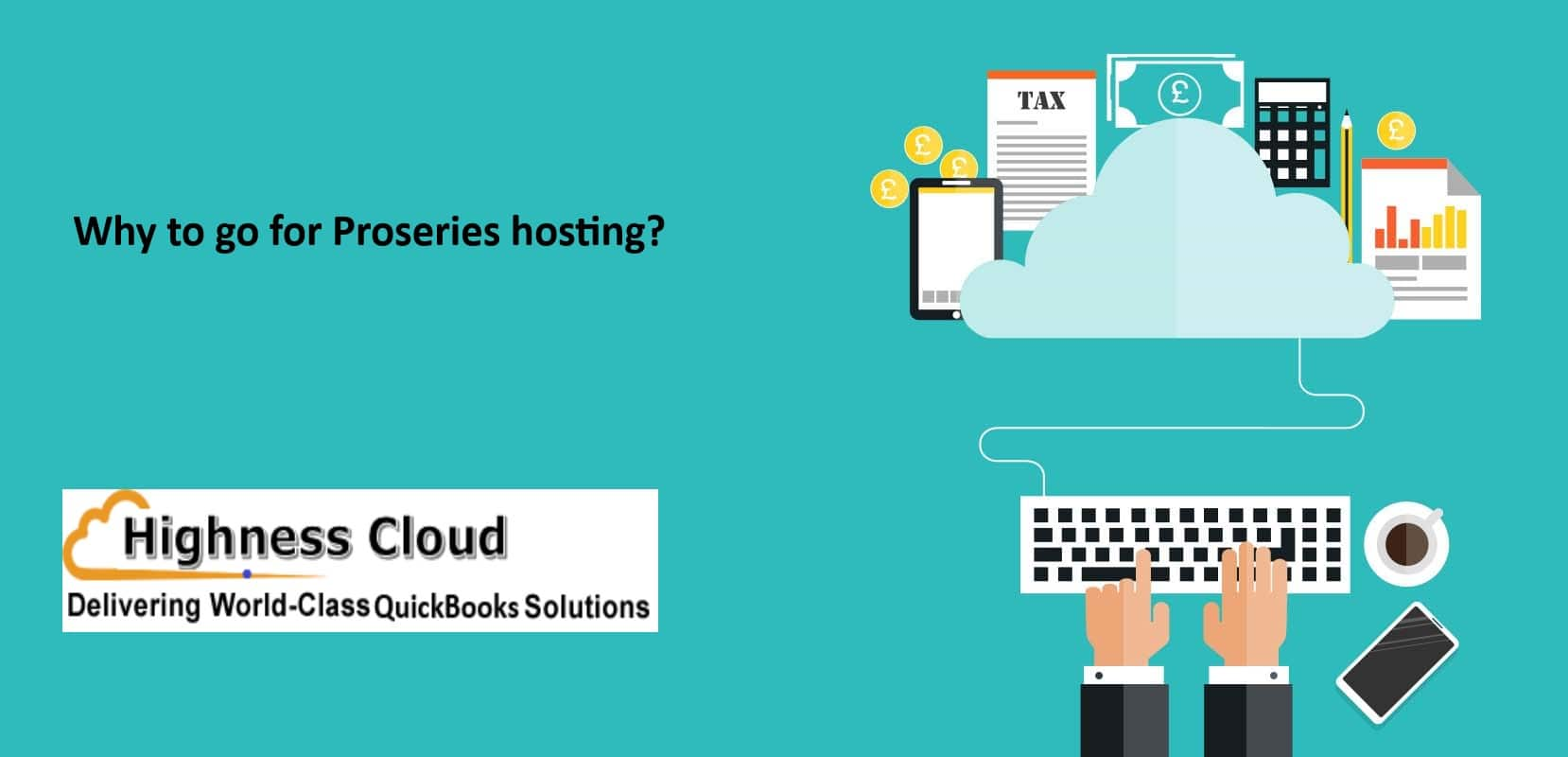 Proseries hosting on the cloud