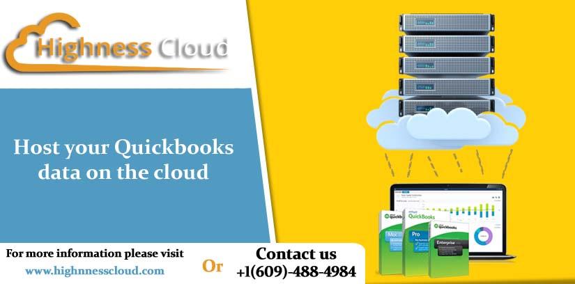 Host Quickbooks on the cloud server