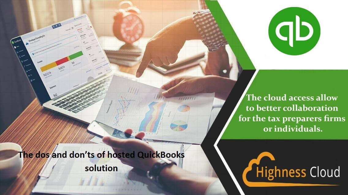 QuickBooks desktop 2020 hosting provider