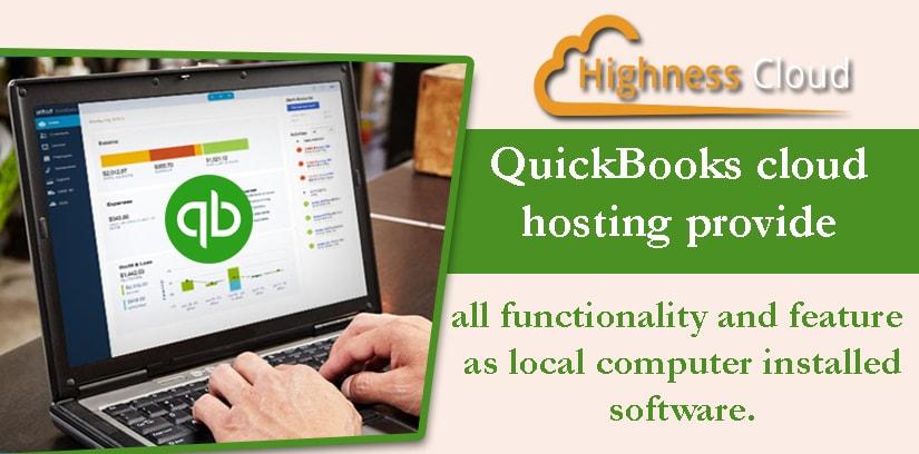 QuickBooks premier hosting provider