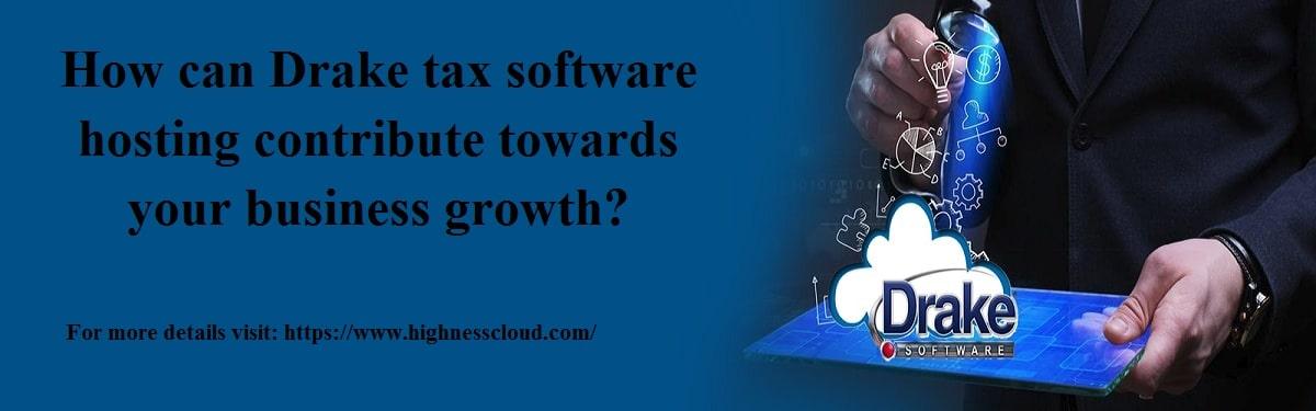 Drake tax software hosting