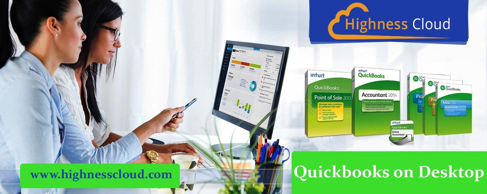 QuickBooks Desktop on the cloud