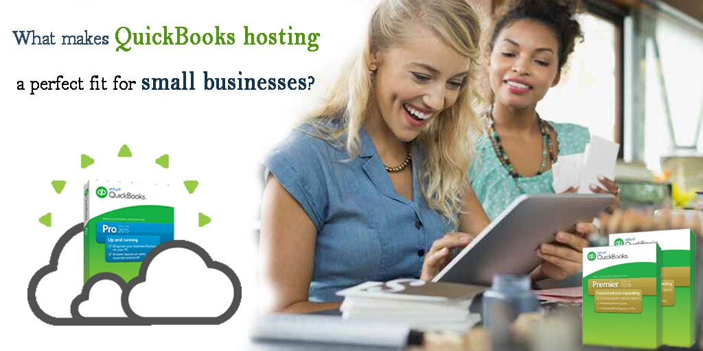 QuickBooks hosting services for small business