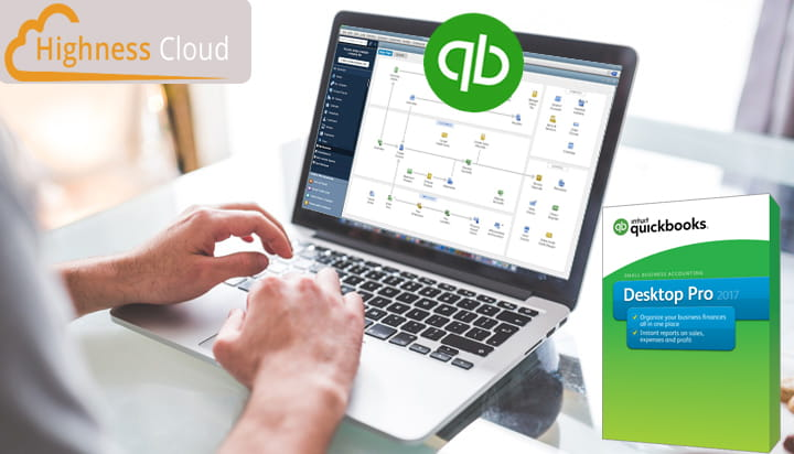 Quickbooks accounting software cloud hosting