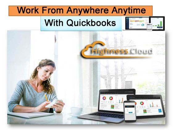 hosting QuickBooks on the cloud
