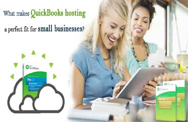 QB hosting for small business