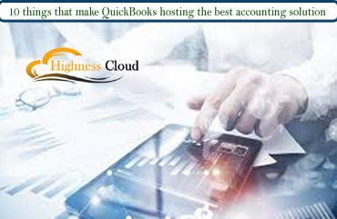 Hosted QuickBooks on the cloud